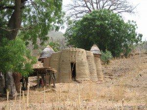 les chateaux forts des Batamarimba,encore appeles Tata
